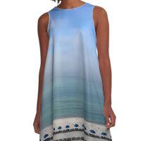 Seascape A-Line Dress