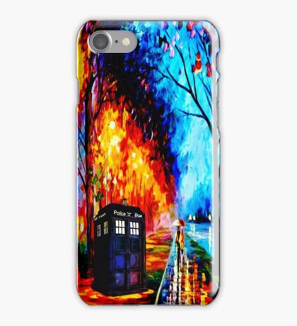 Tardis Style iPhone Case/Skin
