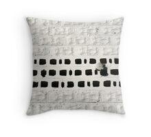 White Lightening Throw Pillow