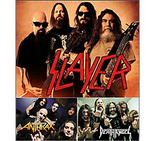 Kar03 SLAYER With ANTHRAX & Death Angel Tour 2016 Photographic Print