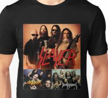 Kar03 SLAYER With ANTHRAX & Death Angel Tour 2016 Unisex T-Shirt