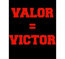 Valor Victory Photographic Print