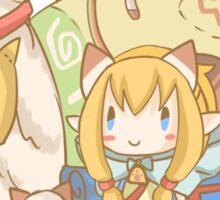 Monster Hunter Generation - Meowtress! Sticker