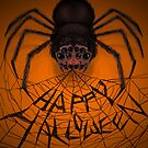Happy Spidery Halloween by trossi