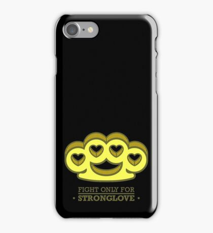 Fight For Your Love iPhone Case/Skin