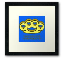 Fight For Your Love Framed Print