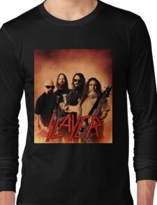 Kar05 SLAYER With ANTHRAX & Death Angel Tour 2016 Long Sleeve T-Shirt