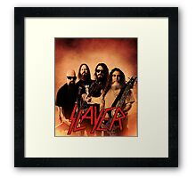 Kar05 SLAYER With ANTHRAX & Death Angel Tour 2016 Framed Print