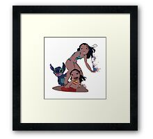 Hawaiian roller coaster ride  Framed Print