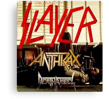 Kar04 SLAYER With ANTHRAX & Death Angel Tour 2016 Canvas Print