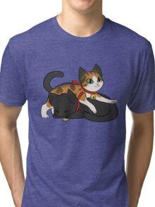 Coeurl Kittens Tri-blend T-Shirt