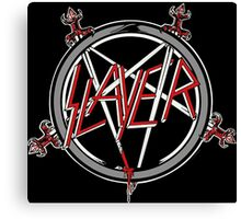 Kar06 SLAYER With ANTHRAX & Death Angel Tour 2016 Canvas Print