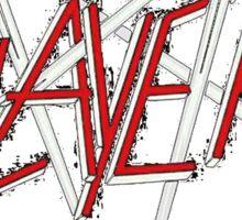 Kar06 SLAYER With ANTHRAX & Death Angel Tour 2016 Sticker
