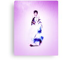 Lee young ae(이영애) in Hanbok(한복), the most beautiful traditional Korean custome Canvas Print