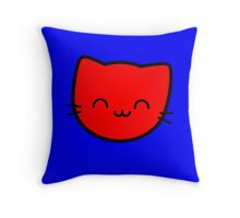 Kawaii Kitty Cats 2048 - tile 8 Throw Pillow