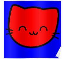 Kawaii Kitty Cats 2048 - tile 8 Poster