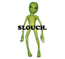 wacky alien - slouch Photographic Print