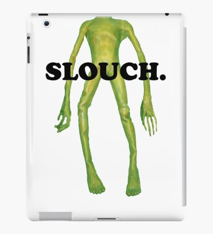 wacky alien - slouch iPad Case/Skin