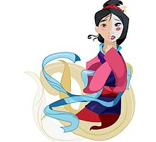 Mulan: Reflection by Minette Wasserman