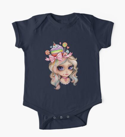 I'm a Little Sweet Thing One Piece - Short Sleeve