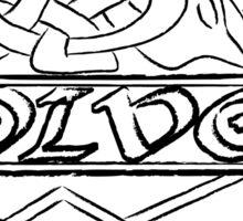 Ancient Volvo Logo Odin Edition Sticker