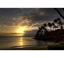 Hawaiian Sunset Photographic Print