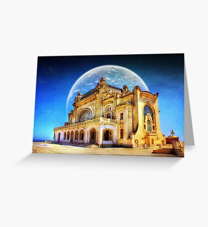 Astral Casino Greeting Card