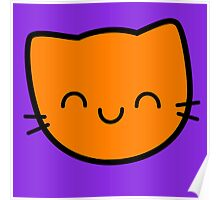 Kawaii Kitty Cats 2048 - tile 16 Poster