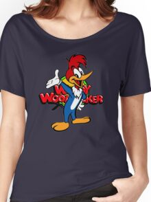 Woody Woodpecker 70's 80's cartoon Women's Relaxed Fit T-Shirt