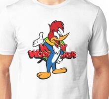 Woody Woodpecker 70's 80's cartoon Unisex T-Shirt