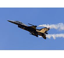 F-16 Low-Speed Pass Photographic Print