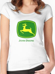 John Deere Women's Fitted Scoop T-Shirt