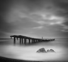 Destroyed pier by yurybird