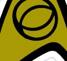 Starfleet Science Officer Sticker