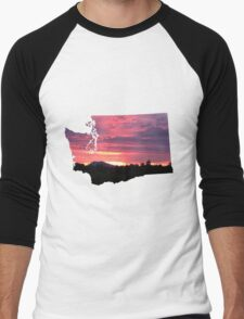 Washington Sunset Men's Baseball ¾ T-Shirt