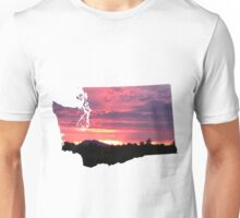 Washington Sunset Unisex T-Shirt