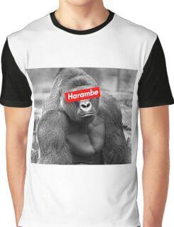 Harambe x Box Logo Graphic T-Shirt