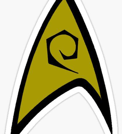 Starfleet Operations Officer Sticker