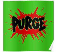 Purge Soda Poster