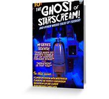 Pulp Starscream Greeting Card