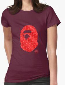Bape x Japanese Box Logo Womens Fitted T-Shirt