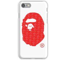 Bape x Japanese Box Logo iPhone Case/Skin