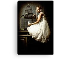 WHITE DOVE Canvas Print