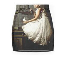 WHITE DOVE Mini Skirt