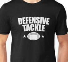 Defensive Tackle Football Team Position T Shirt -Game Jersey Unisex T-Shirt