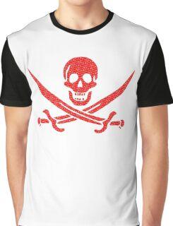 Pirate x Japanese Box Logo Graphic T-Shirt