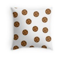 The rain of cookies! Throw Pillow
