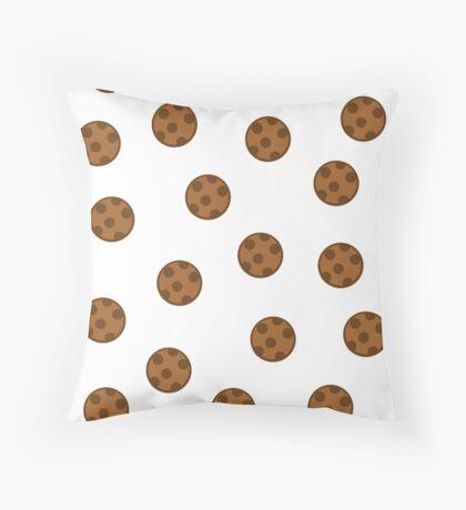 The rain of cookies! Throw Pillow