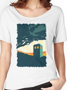 Tardis Travel Women's Relaxed Fit T-Shirt
