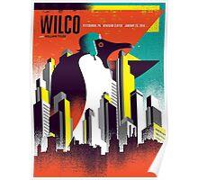 WILCO TOUR 2016 BENEDUM CENTER PITTSBURGH,PA Poster